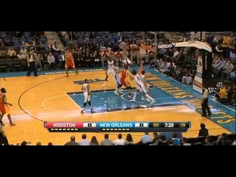 Jeremy Lin's Euro-Step and lefty layup vs. Hornets
