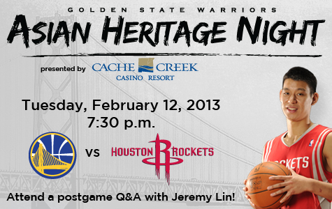Jeremy Lin hosts Asian Heritage Night with Houston visits Golden State