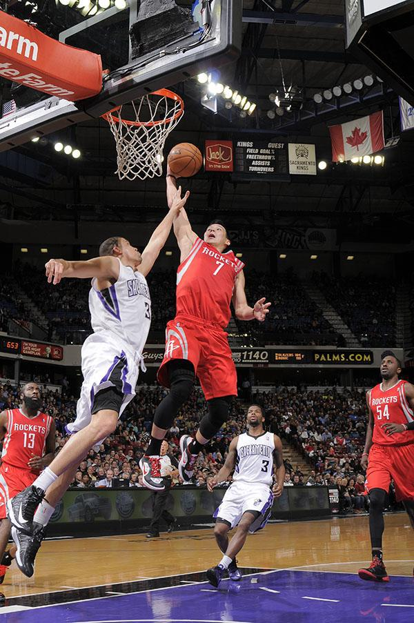 jeremy lin slam dunk vs. sacramento kings