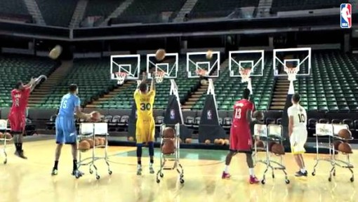 NBA Christmas Commerical 2013 Jingle Bells