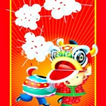 chinese new year red packet dragon