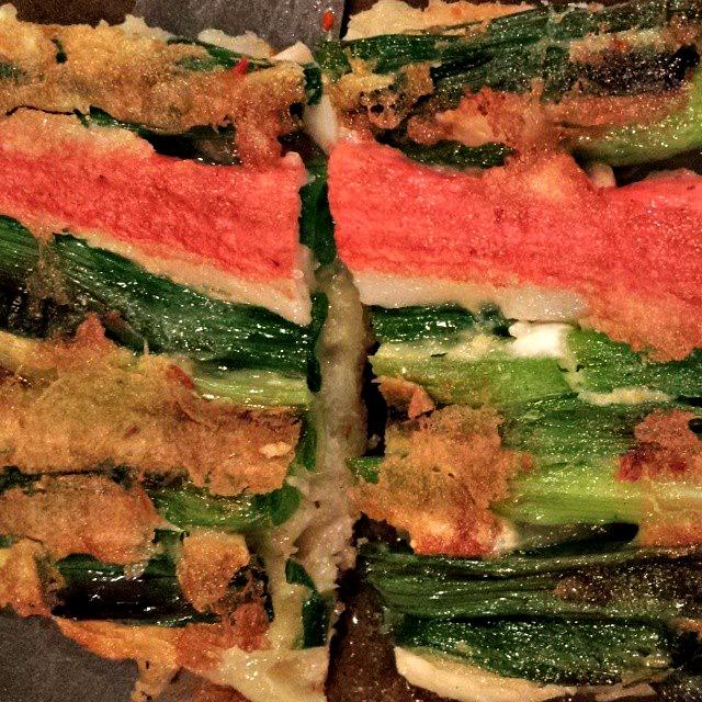 haemul pajeon korean seafood pancake