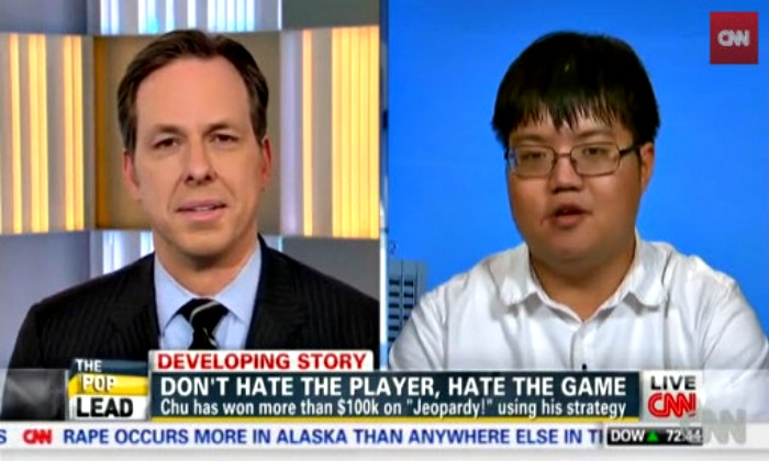 Arthur Chu discusses Jeopardy strategy on CNN