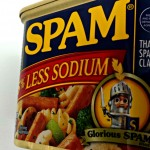 Spam Glorious Spam a lot in a can