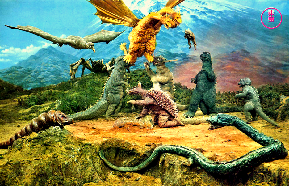 Destroy All Monsters brought all the Godzilla characters together in one major battle royale