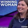 Julia Collins is Jeopardy's Winningest Woman