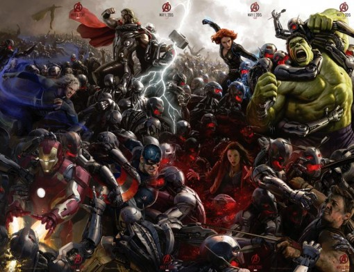 Avengers Poster from San Diego Comic Con
