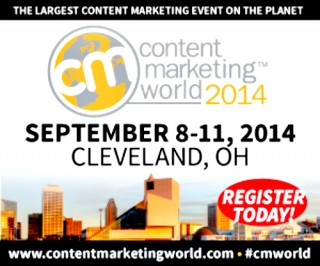 Content Marketing World 2014 logo