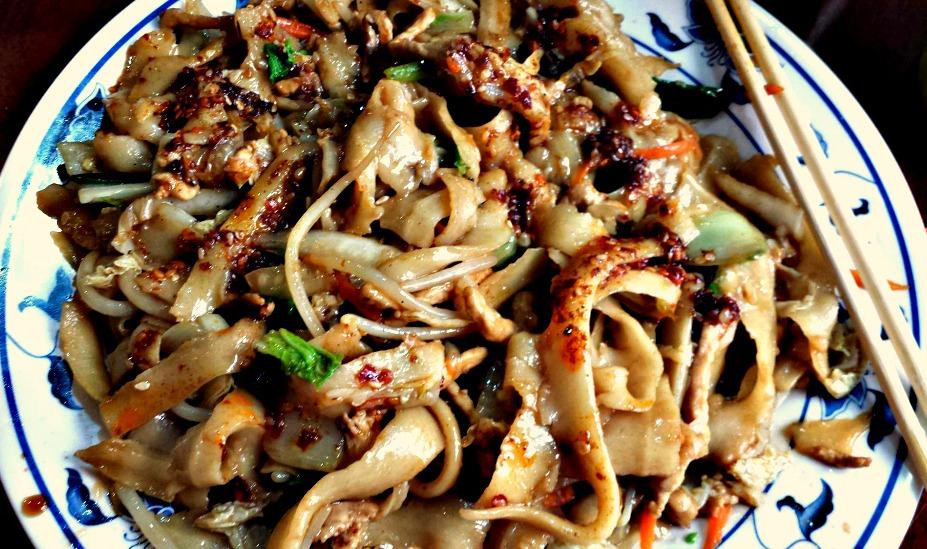 Knife Peeled Noodles from Tasty Handpulled Noodles