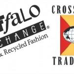 Buffalo Exchange vs. Crossroads Trading logos