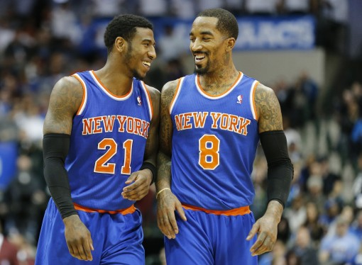 jr smith and carmelo anthony relationship