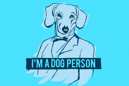 I'm a dog person