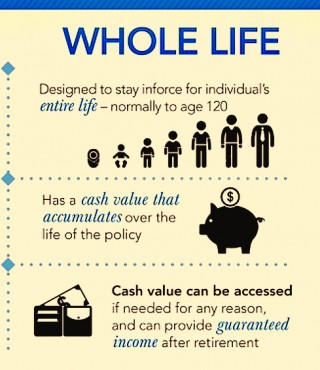 what is whole life insurance and how does it work in words you ll