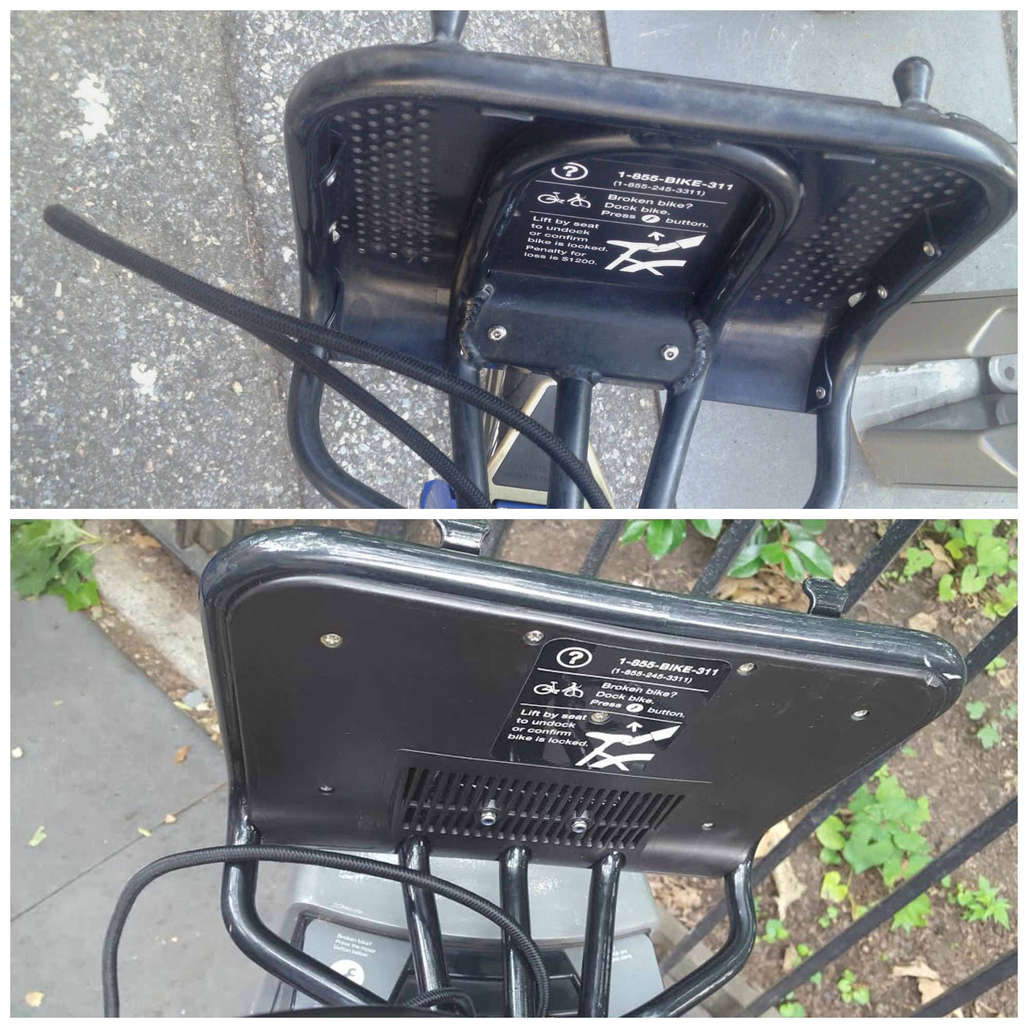 CitiBike new vs old basket