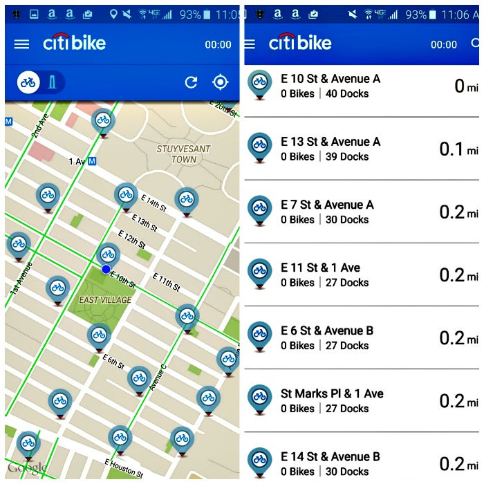 CitiBike Dockpocalyse empty stations east village