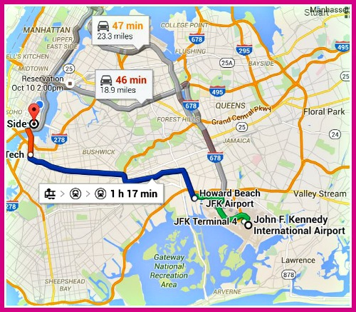 how to go from jfk to manhattan airtrain