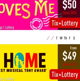 TodayTix Lottery how to use