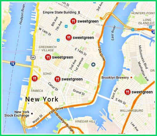 sweetgreen nyc locations