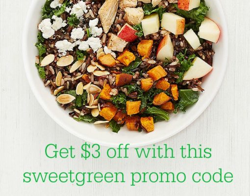 sweetgreen promo code harvest bowl