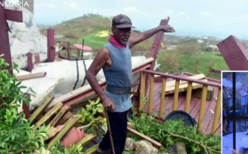 hurricane maria hits vieques puerto rico