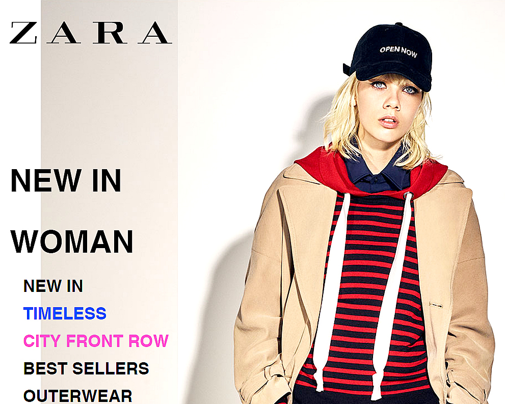 Weekly new trends in clothes, shoes & accessories at ZARA online. FREE SHIPPING for you to try on at your leisure.