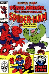 Marvel Tails Spider Ham #1