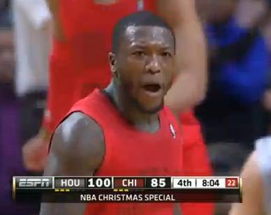 Nate Robinson calls Jeremy Lin motherfucker on Christmas!