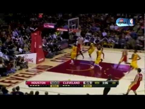 Jeremy Lin highlights vs. Cleveland Cavs (20 pts, dude)