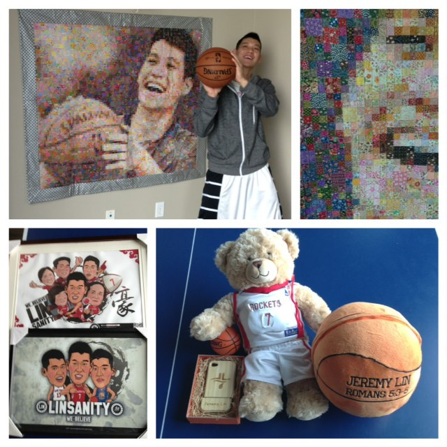 Jeremy Lin getz gifts from fanz