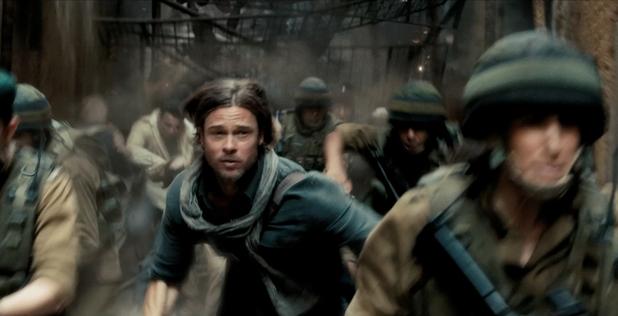 Brad Pitt runzzzzz from zombiezzz