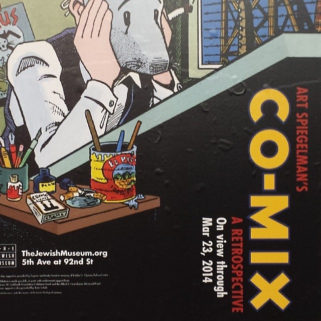 Art Spiegelman Retrospective at Jewish Museum