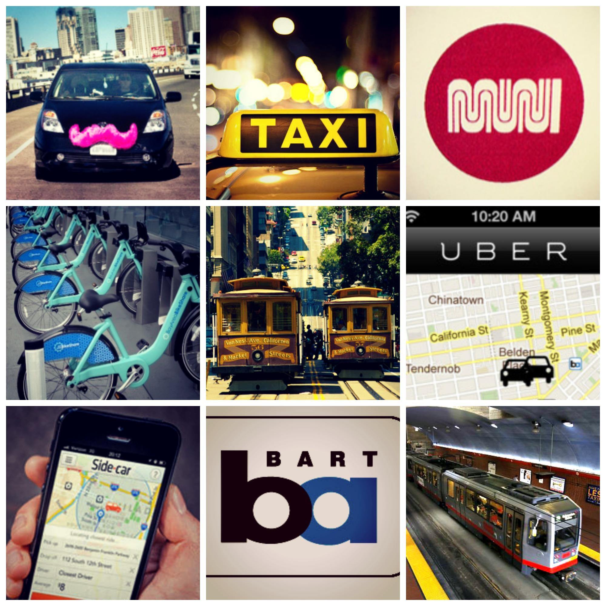 Getting Around: San Francisco's Diverse Transportation Options