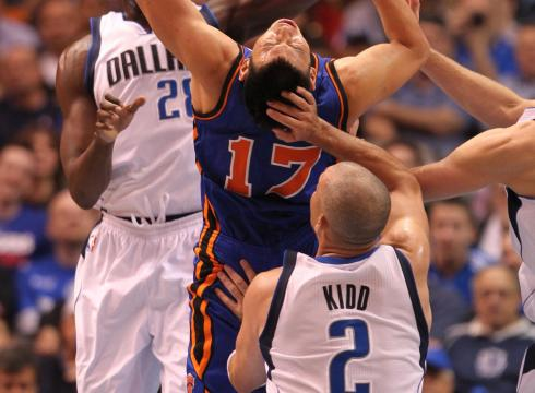 Gallery: Jeremy Lin's bumps, bruises, scratches, stitches, knots…