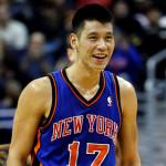 Jeremy Lin bandaged up chin