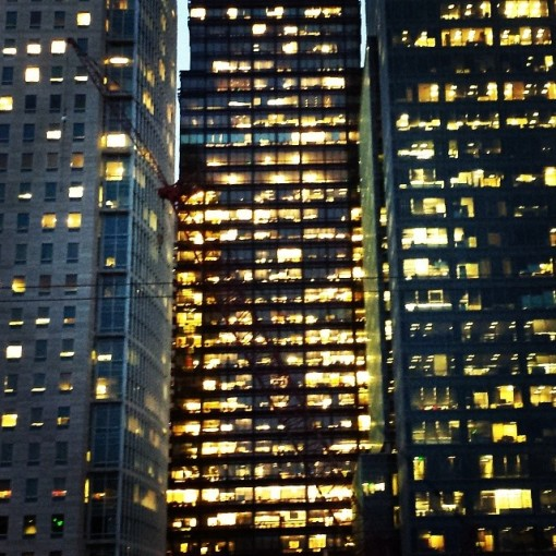 San Francisco buildings are alive