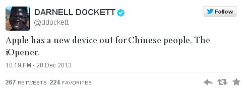 Darnell Dockett racist tweet