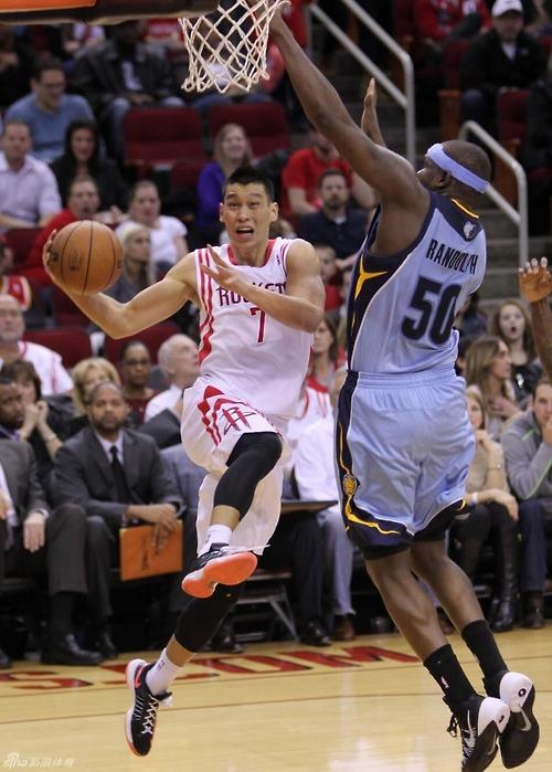 Jeremy Lin reverse layup Zach Randolph1