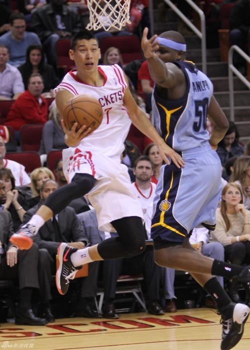 Jeremy Lin reverse layup Zach Randolph2