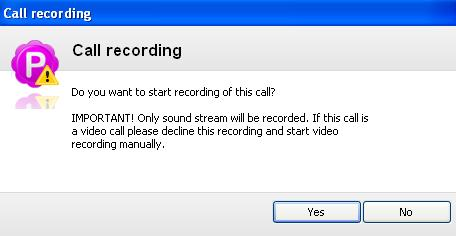 Pamela software records skype audio