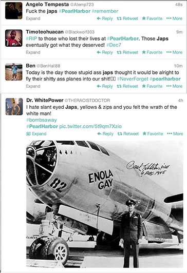 SpaghettiOs Racist Tweets Pearl Harbor Day