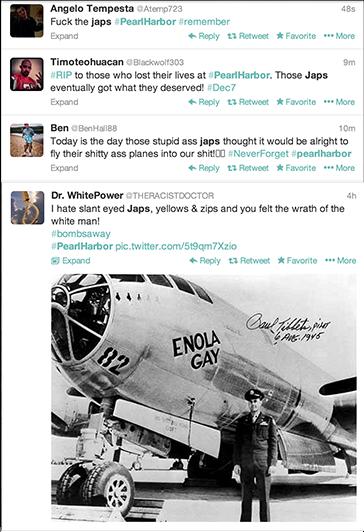 SpaghettiOs Racist Tweets Pearl Harbor Day