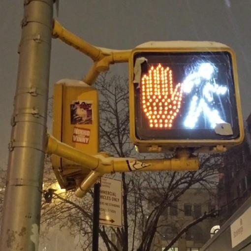 Stop / Don't Stop Crosswalk Confusion
