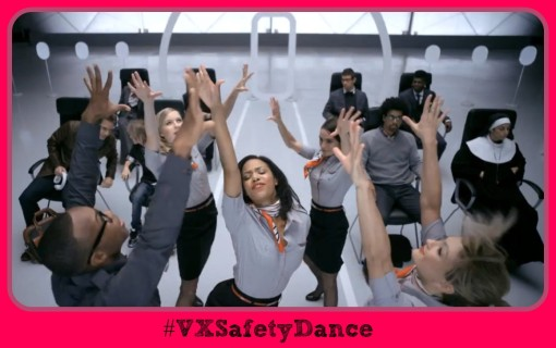 Virgin America #VXSafetyDance Safety Video