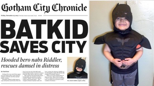 Did anyone not have 'Batkid' dominate their Facebook feed?