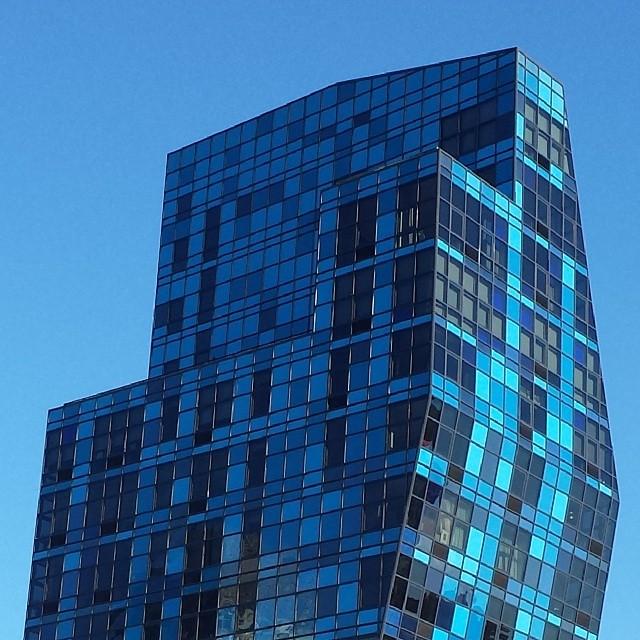 Blue Building Lower East Side