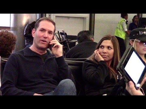 Conan, Cube, Kevin Hart, Gandalf, and Cell Phone Crashing at JFK