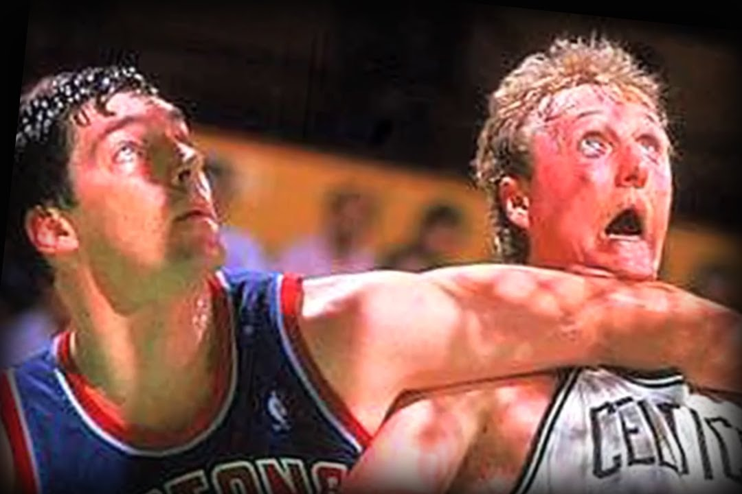 Larry Bird still holds a grudge against Bill Laimbeer
