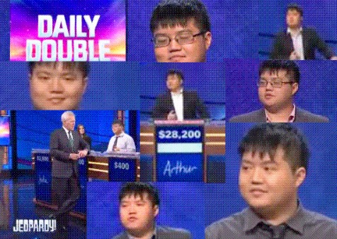 Watch all of Arthur Chu's Jeopardy episodes
