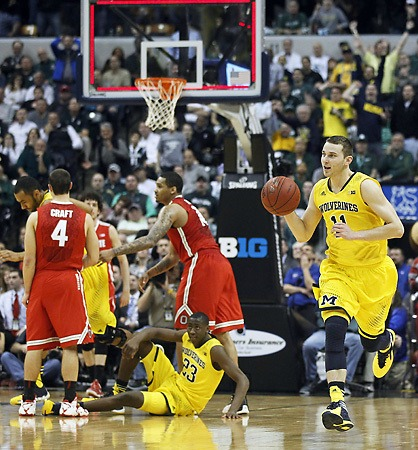 Victory slips out of Aaron Craft's hands (but the basketball was slippery!!!)