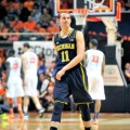Nik Stauskas stares down ignorant Illinois fans